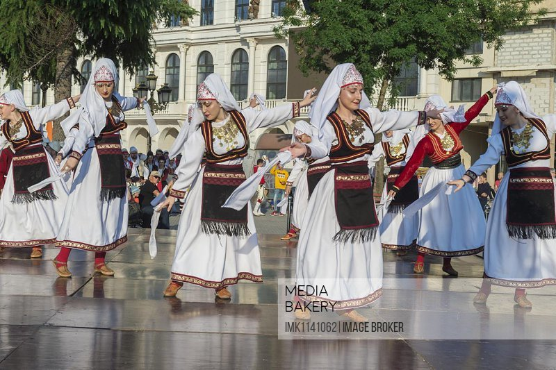 International Folklore Festival, Youth Day, Skopje, Macedonia, Europe