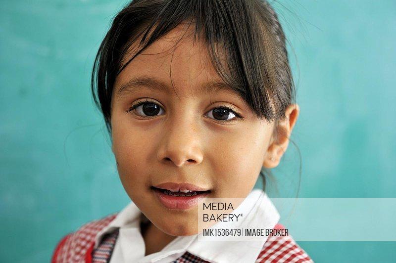 Girl, portrait, Queretaro, Mexico, North America, Latin America, Central America