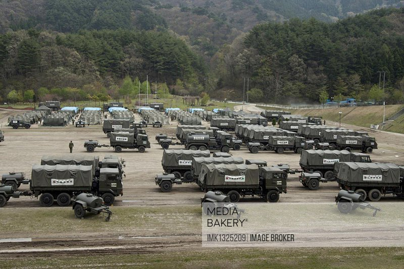 Disaster relief vehicles of the Japanese Self-Defense Forces