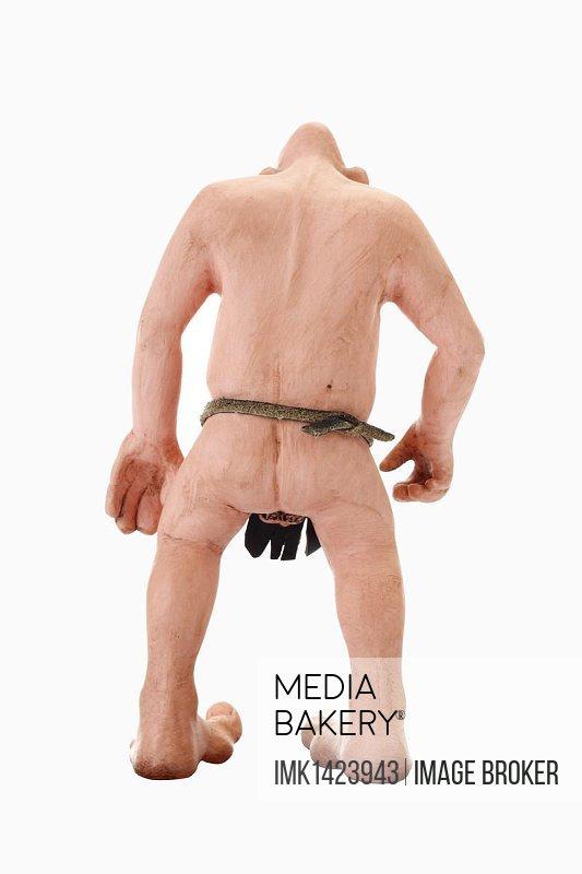 Stone age man, cartoon character