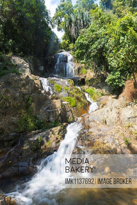 Na Muang waterfall, Koh Samui, Thailand, Asia