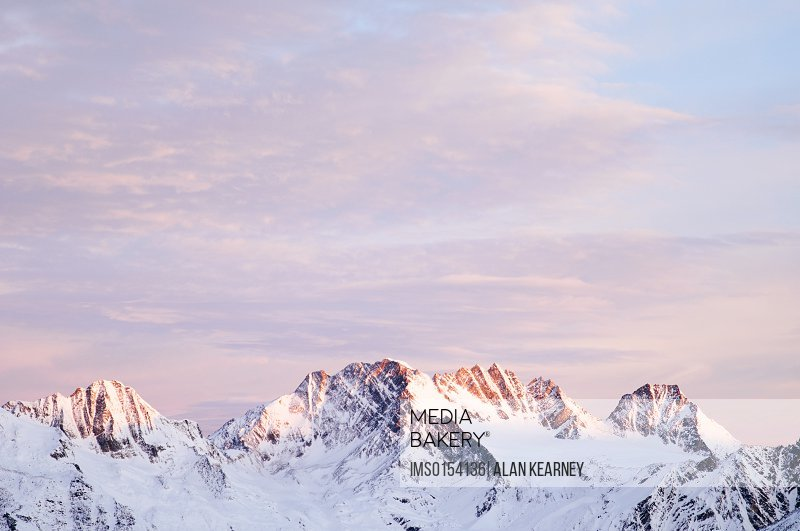 Selkirk mountains at dawn