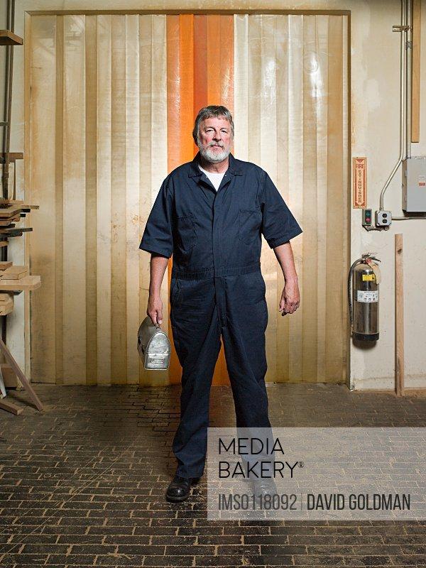 Male warehouse worker