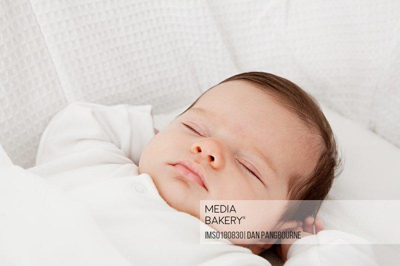 Mediabakery Photo By Image Source Sleeping Baby Girl