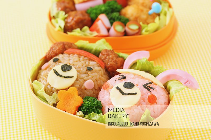 Japanese style character lunch box