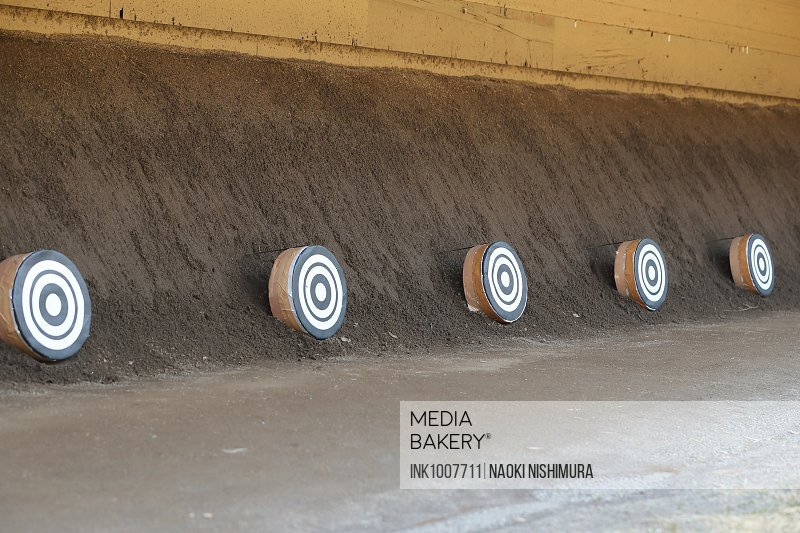 Photo by Ink Images - Japanese traditional archery targets