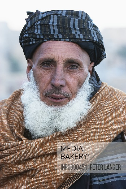 Mediabakery - Photo by Insights Images - Old Pashtun man in