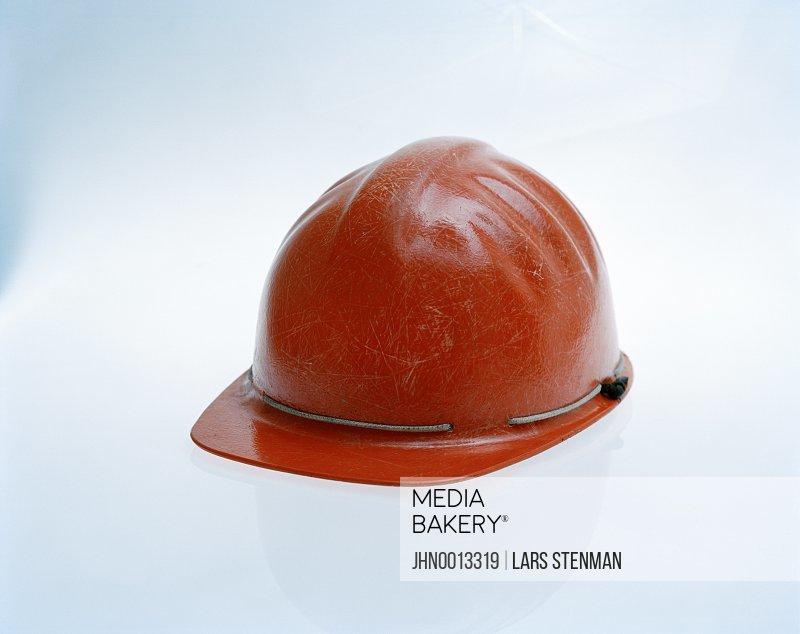 A red helmet.