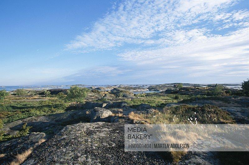 View over the Stockholm archipelago.