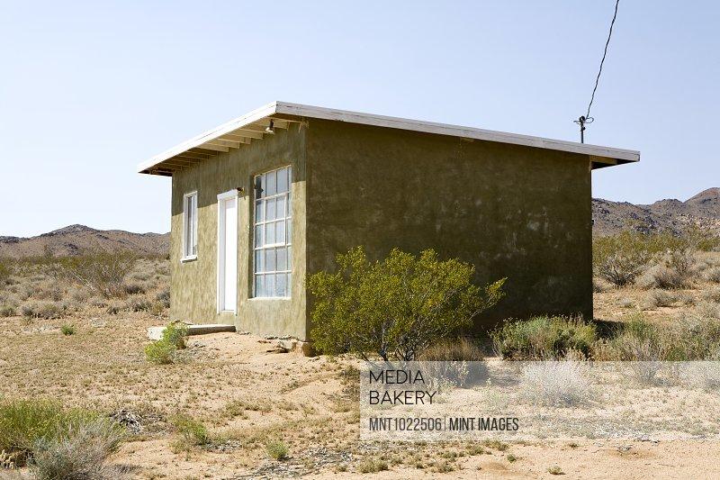 House in Desert, Twenty Nine Palms, Mojave Desert, California