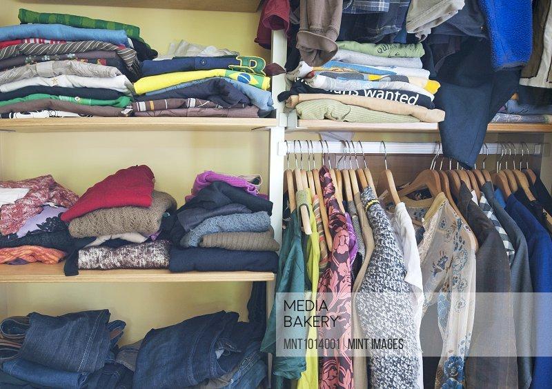 Closet Full of Clothing