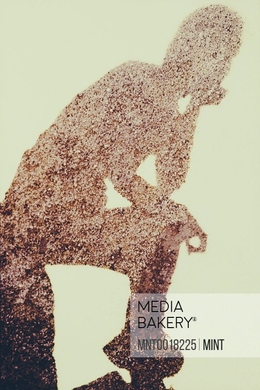 Mediabakery Photo By Mint Images The Outline Of A Human Body A