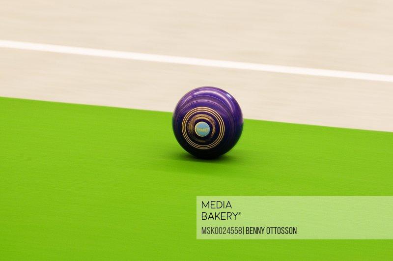 Purple ball
