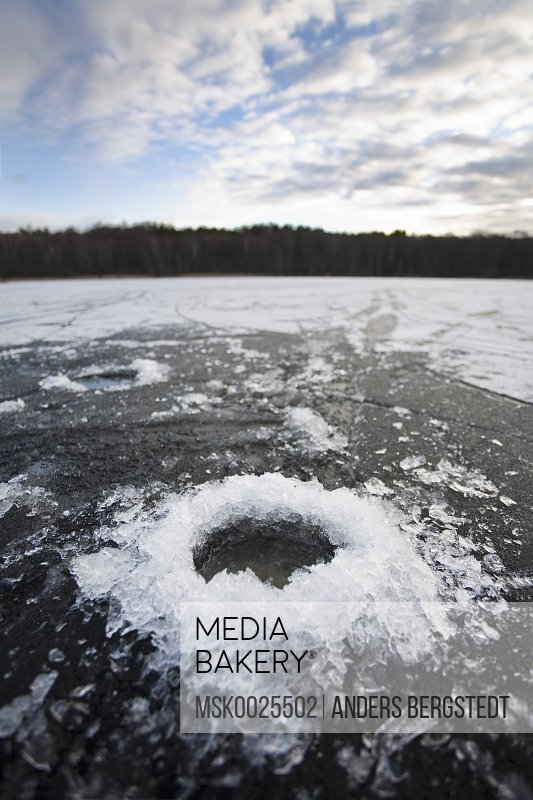 Hole in the ice