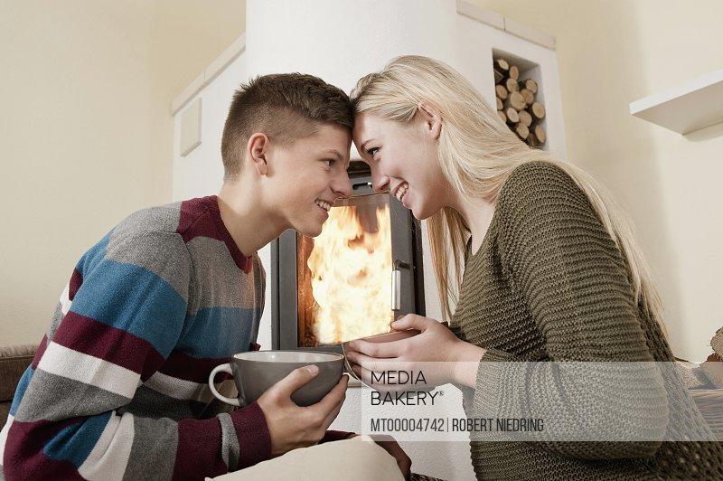 Husband wife having sex