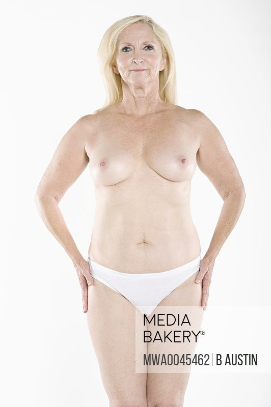 Topless women