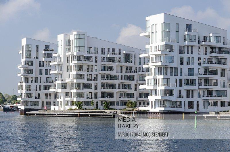Havneholmen Modern Apartment Houses Designed By Lundgaard Tranberg Architects Islands Brygge