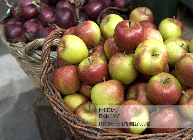Fresh produce at marketplace