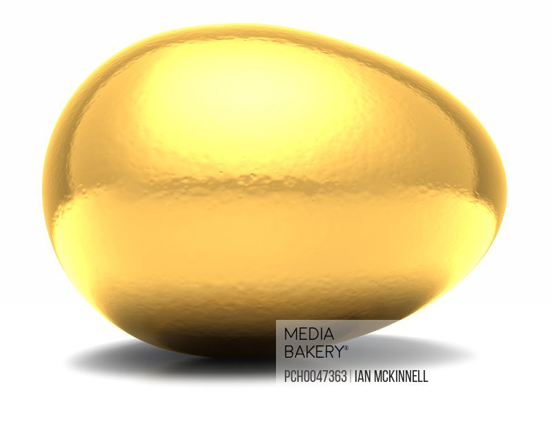 Golden Egg Horizontal