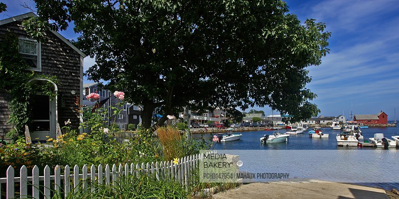 Rockport lies at the tip of Cape Ann