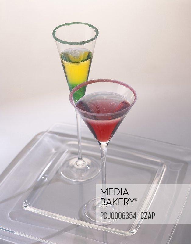 Vera cruz and revolucion alcoholic cocktails
