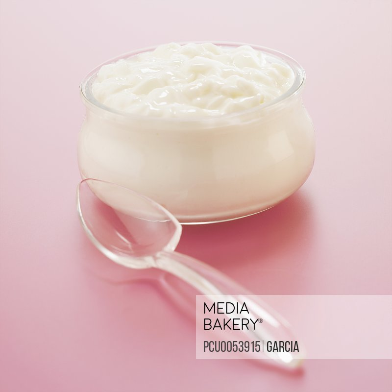 Small pot of curdled milk