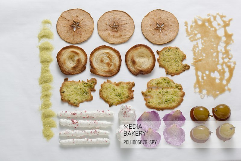 Composition of sweet delicacies