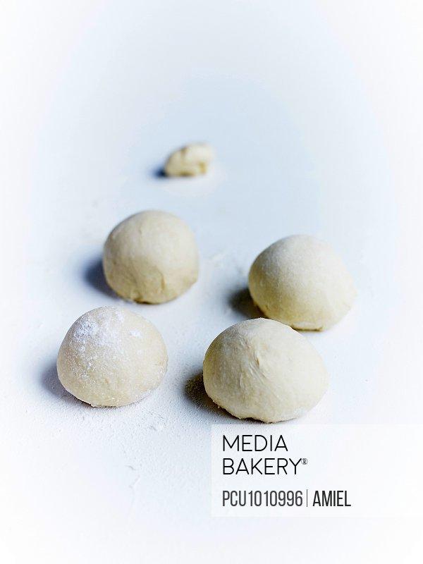 Milk bread dough balls