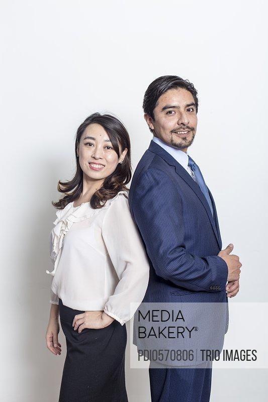 business partner studio photo
