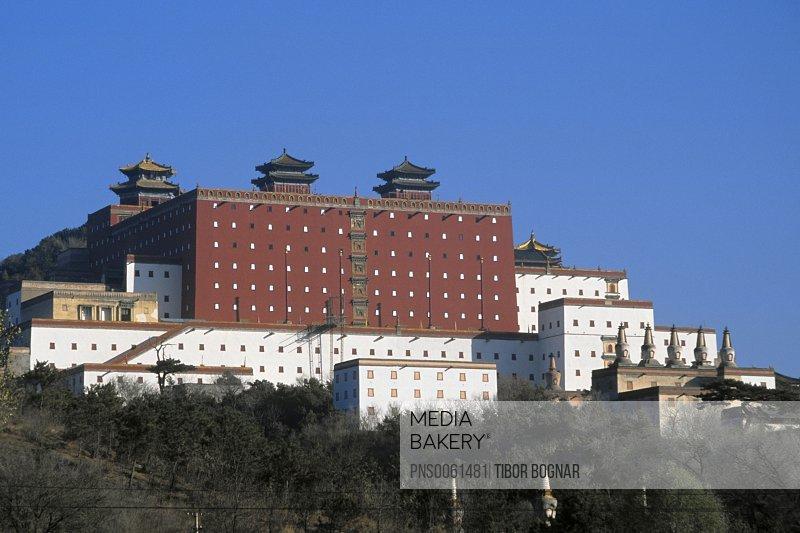 China, Hebei Province, Chengde, temple of Potaraka Doctrine, Putuozongshengzhi Miao