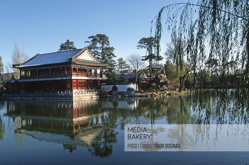 China, Hebei, Chengde, Imperial Summer Villa,