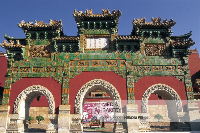 China, Hebei Province, Chengde, Temple of Happiness and Longevity, 1780