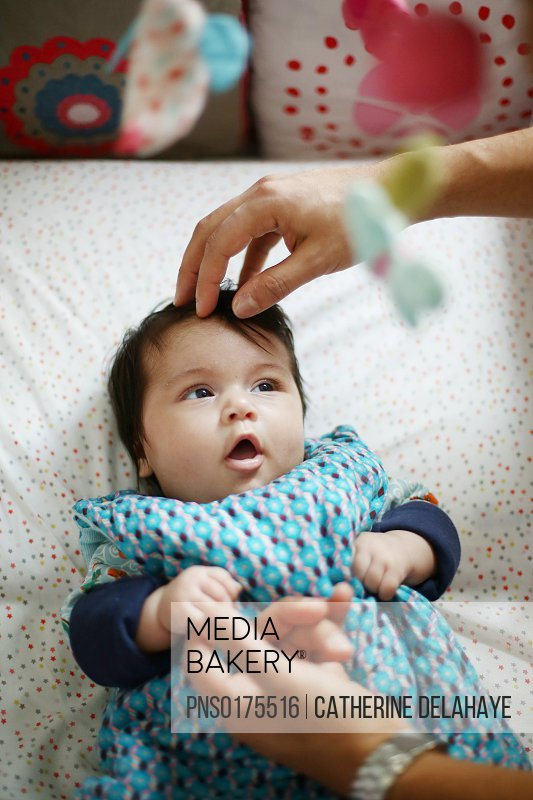 Mediabakery Photo By Photononstop Images A 2 Months Old Baby In