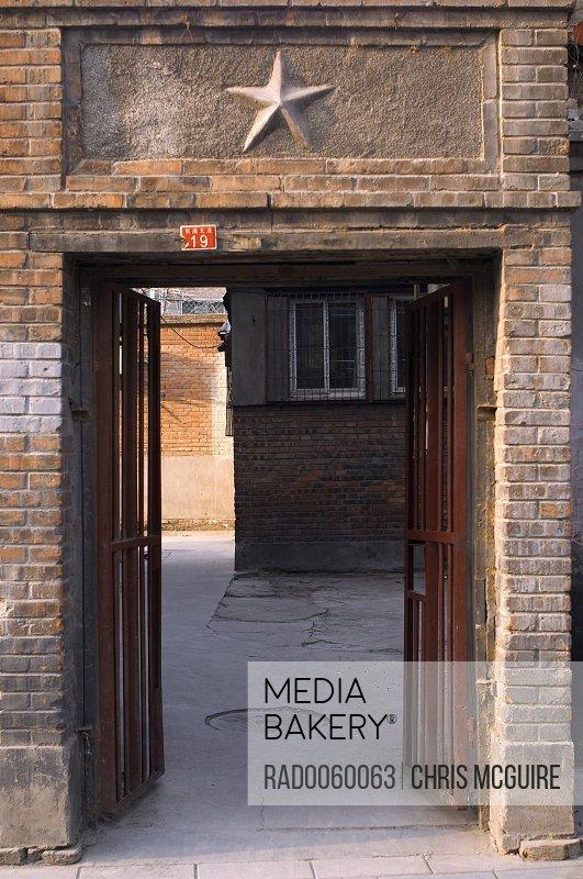 Old Door, Beijing, China