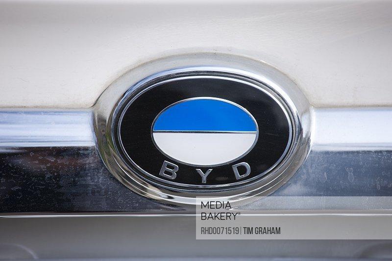 Mediabakery Photo By Robert Harding Byd Logo Car Manufacturers