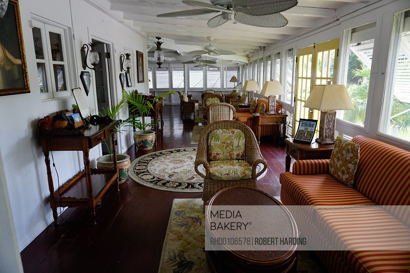 Old Plantation House, Nesbit Beach Club, Nevis, St. Kitts and Nevis, Leeward Islands, West Indies, Caribbean, Central America<br><br><span style='color: red'>Editorial Use Only.</span><br><br>