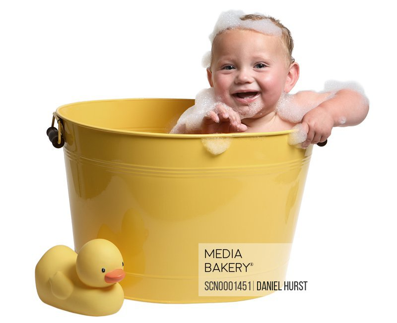 Mediabakery - Photo by Stock Connection - Baby in tub
