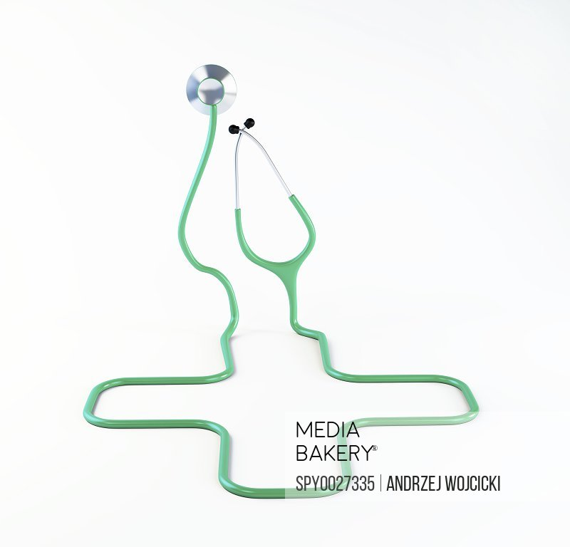 Medical care conceptual artwork