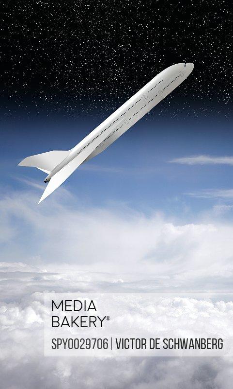 Space tourism artwork