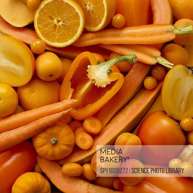 Fresh orange produce, full frame.