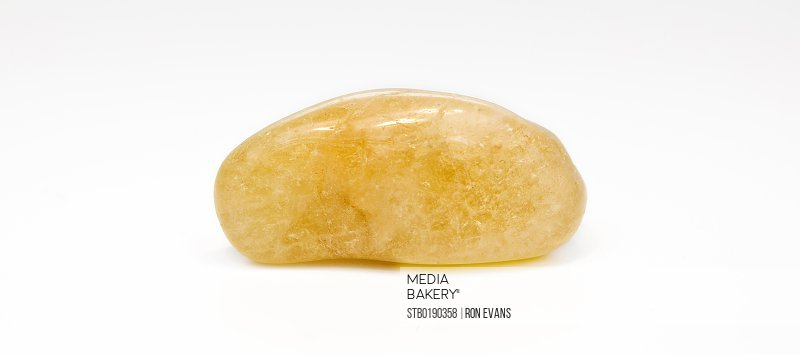 Golden Topaz Crystal Gemstone