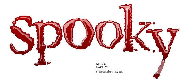 Spooky blood word