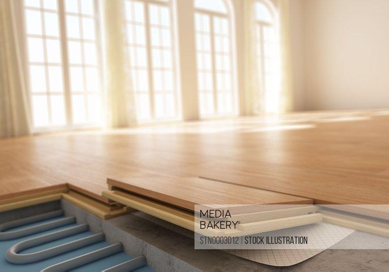 Flooring assembly