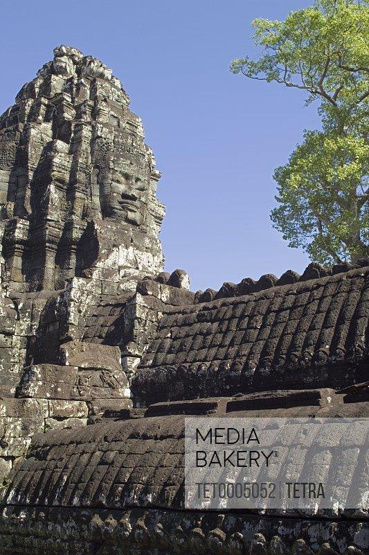 Ancient Temple Angkor Thom Angkor Wat Bayon Cambodia Khmer