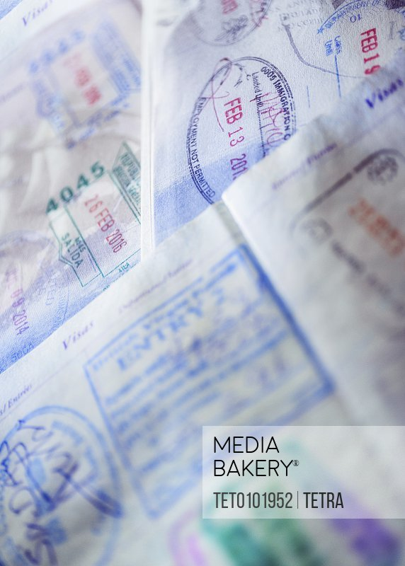 Stamps in passports