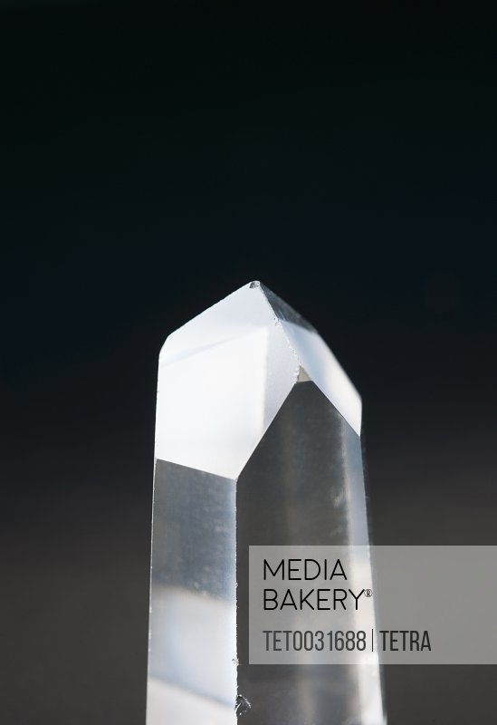 A pure quartz crystal