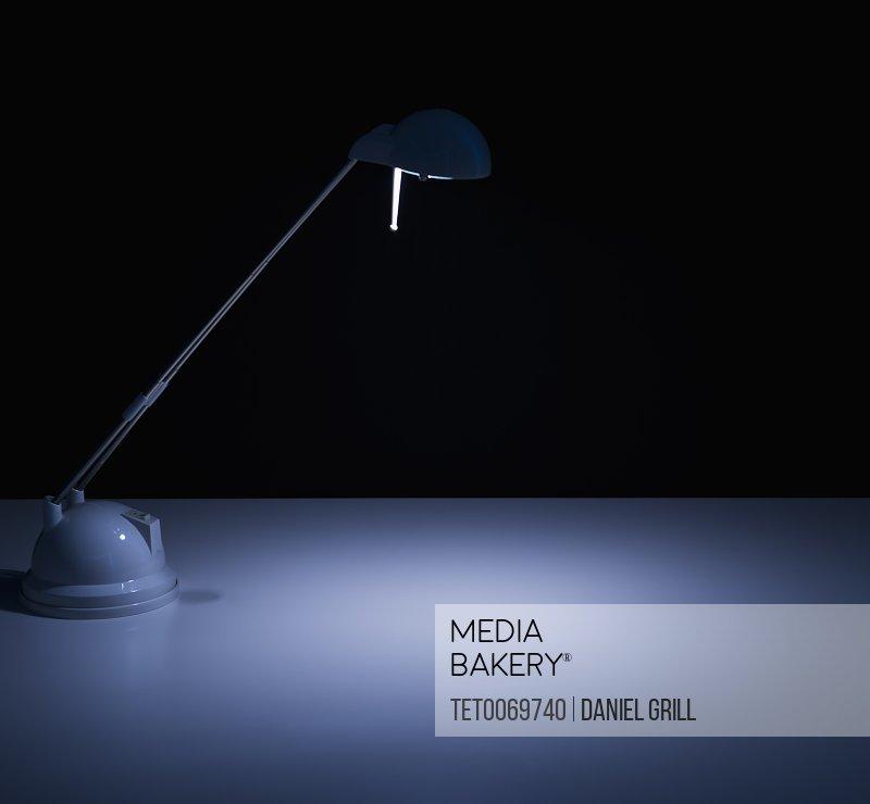Studio shot of desk lamp