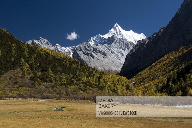 Landscape in Sichuan China