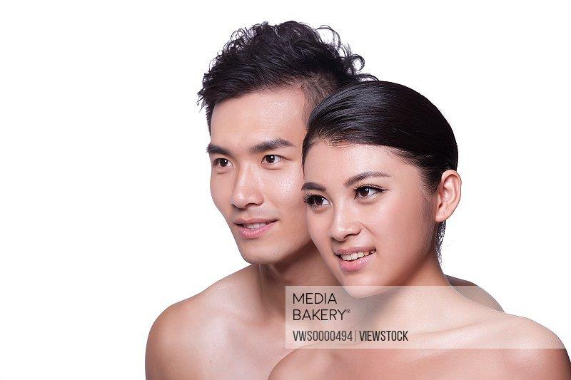 Young couple protrait