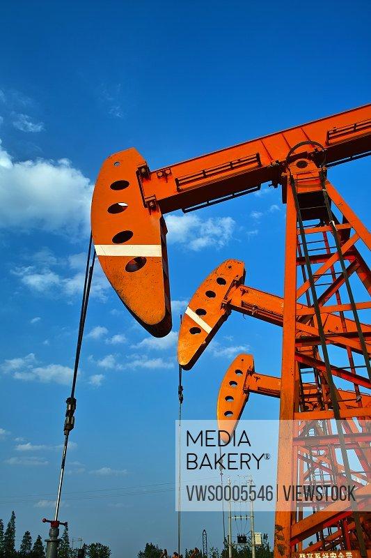 Oil field Jiangsu China